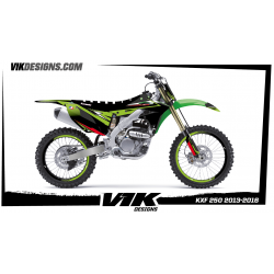 KIT ADHESIVOS KXF 250 2013-2016