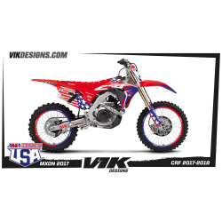 KIT ADHESIVOS REPLICA MXON COLE SEELY